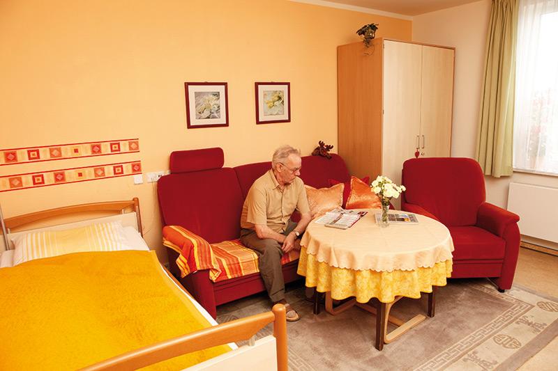 Wohnen im Wohnpflegeheim Gera